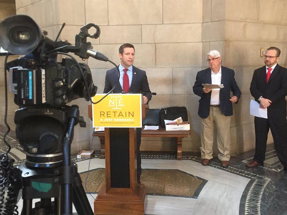 Retain A Just Nebraska campaign kickoff