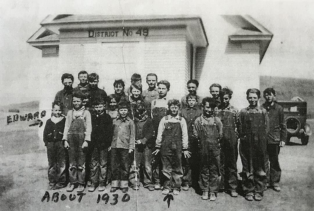 District 49 School Group, 1930s Nebraska