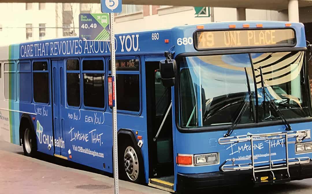 StarTran public bus in Lincoln, Nebraska (Richard L. Schmeling)
