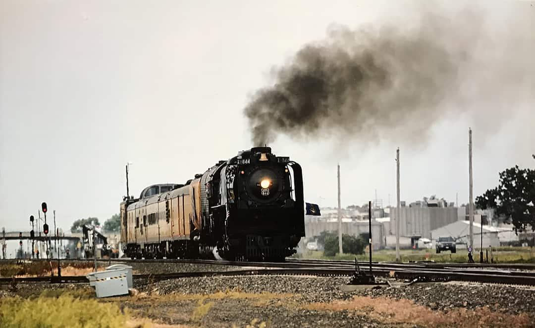 Union Pacific's Steam Locomotive No. 844